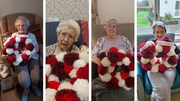 Arts and crafts take a festive twist at Moreton-in-Marsh care home