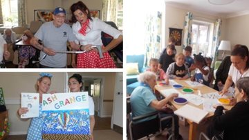 Walsall Care Home Celebrates Art in Care