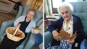 Autumn activities for Whittlesey care home Residents