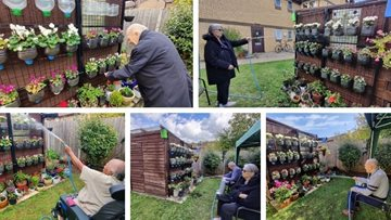Residents become quite the botanists at Watford home's holistic garden