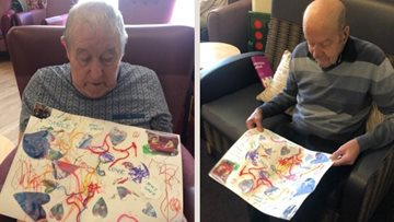 Falkirk care home Residents thankful for community mail