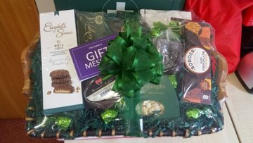 Sheffield care home receive food hamper from Relative