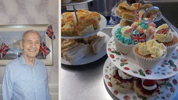 County Durham home marks the Queen's birthday in style
