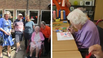 Horsham Care Home Celebrates Art in Care
