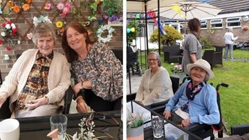 Summer fayre celebrations at Kirkby House