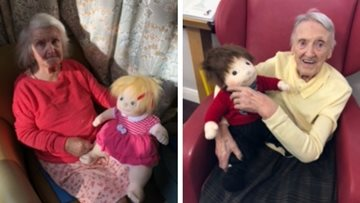 Three new arrivals at Manchester care home