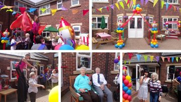 Outstanding carnival party at Roker care home