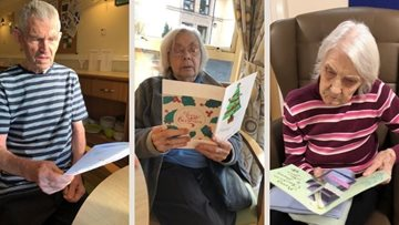 Stirlingshire care home given Christmas cards by French schoolchildren