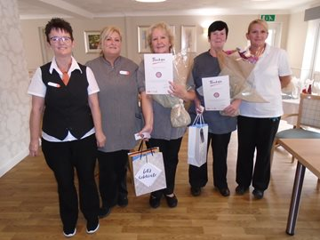 Nelson Care Home recognises long serving care staff