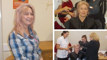 Walsall Care Assistant braves the shave for charity