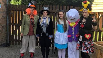 Grimsby care home takes a trip to Wonderland
