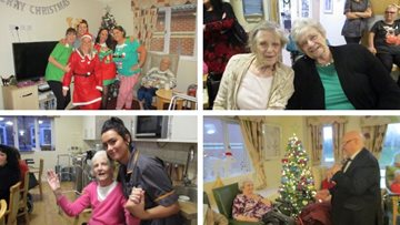 Festive fundraising success at Armley care home