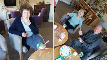 Final festive preparations underway at Hartlepool care home