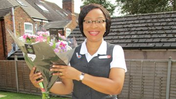 Kindness delivered at Hinckley care home