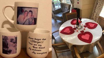 Love is in the air at Brandon House