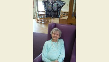 GBX Anthem loving Resident celebrates 100th birthday
