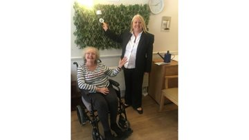 Mitcham care home create memorial wall for late Residents