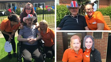London care home hosts royal garden party