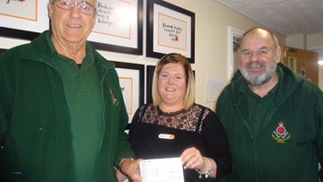 Caerphilly care home receives act of kindness from Welsh veterans