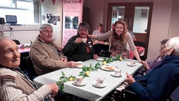 County Homes Residents enjoy trip to Carrbridge Community Centre