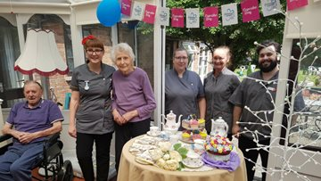 Retford care home hosts charity Cupcake Day