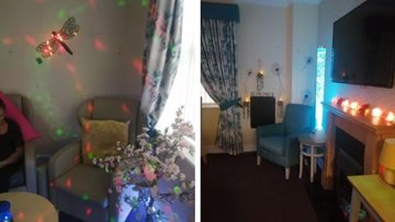 Launch of new sensory room is a success at Newton Heath care home