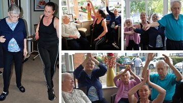 Residents put on their dancing shoes for wellbeing initiative at Georgetown care home