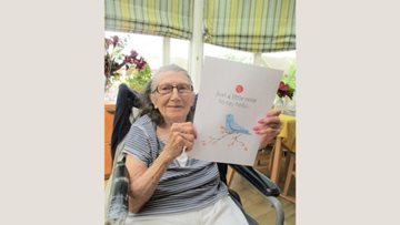 Ilford care home Residents send messages to loved ones