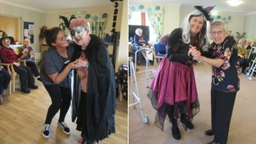 Residents have a fangastic time at Halloween partyt