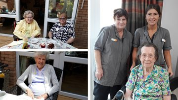 Share a smile coffee morning at Milton Keynes care home