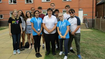 Young meets old as part of National Citizens Service