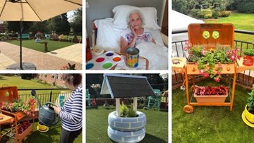 Boston care home delighted at garden competition win