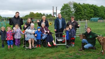 Rushcliffe Roots helps residents to celebrate healthy, local and sustainable food