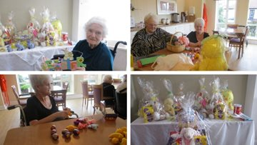 Easter preparations at Park House