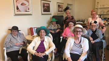 Ladies' afternoon at St Mellons care home