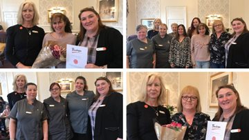 Dedicated workforce celebrated at Edinburgh care home
