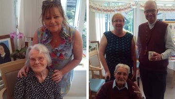 Perry Barr care home gets artistic for Care Home Open Day
