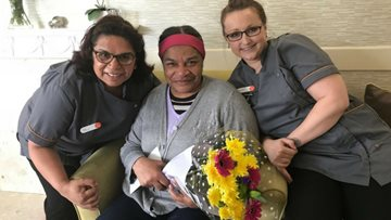 Resident's kindness celebrated at Luton care home