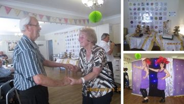 Show goes on at Stafford Care Home
