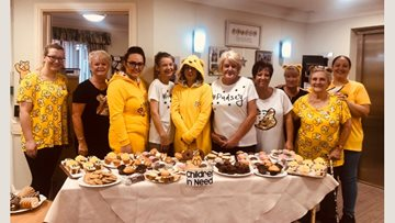 Residents at Morpeth care home raise money for Children in Need
