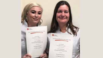 Hard work pays off for Shelton Lock Colleagues