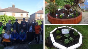 Averill House teams up with Groundwork and The Prince's Trust for dementia-friendly garden project