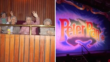 Peter Pan pantomime is a big hit for Residents at Sheraton Court