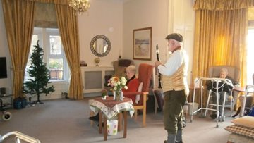 Musical start to new decade at Penrith care home