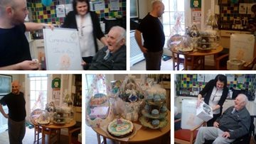 Duffield care home host baby shower for staff member