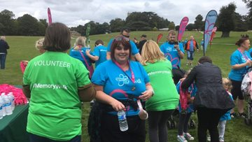 Fundraising success as Berry Hill Park Colleague shows support for Alzheimer's Society