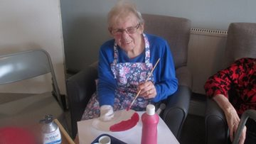 Pottery club is a success at Swansea care home