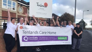 Ferryhill Care Home receives an 'Outstanding' rating in CQC Report