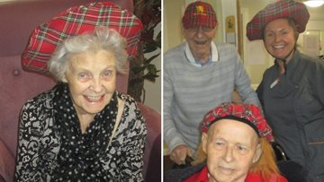 Wallyford care home host St Andrew's Day celebrations