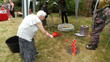 Rotherham Community enjoys a sizzling summer party at care home